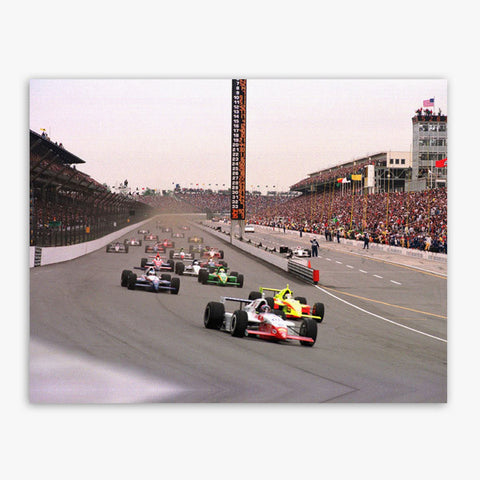 Indy 500 Turn One Canvas Print (18x24)
