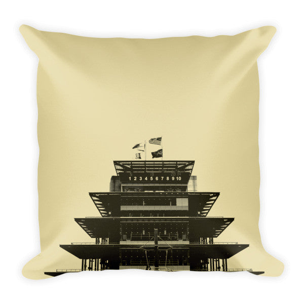 RetroIndy Pagoda Pillow