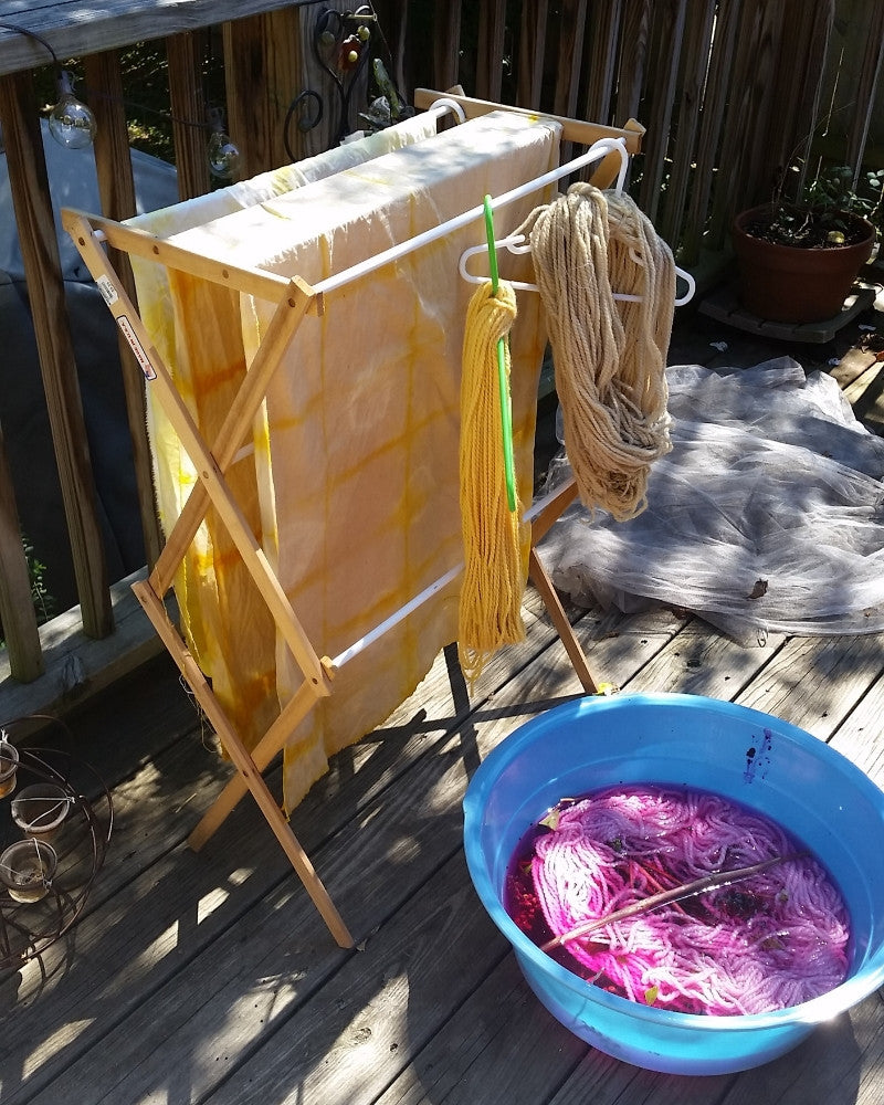 Adventures in Dyeing