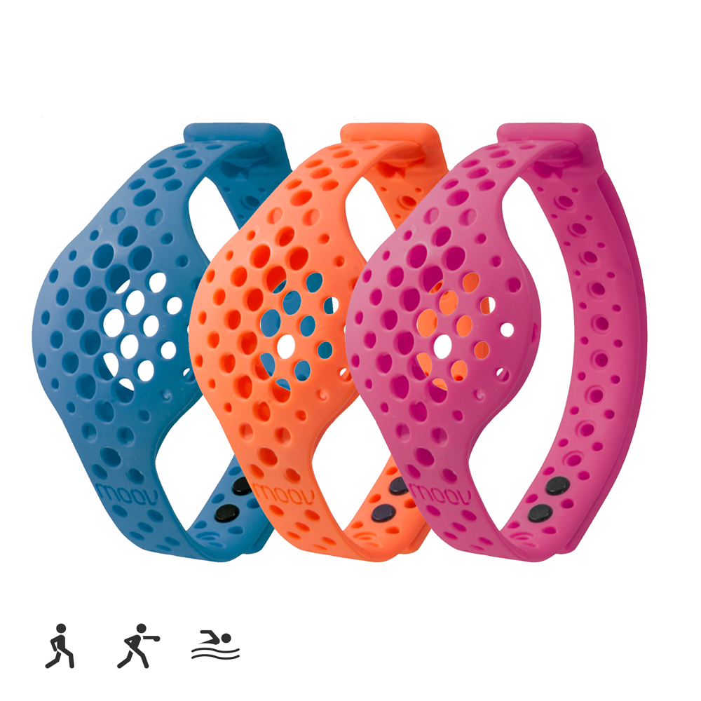 Moov Colors Band 3 Pack