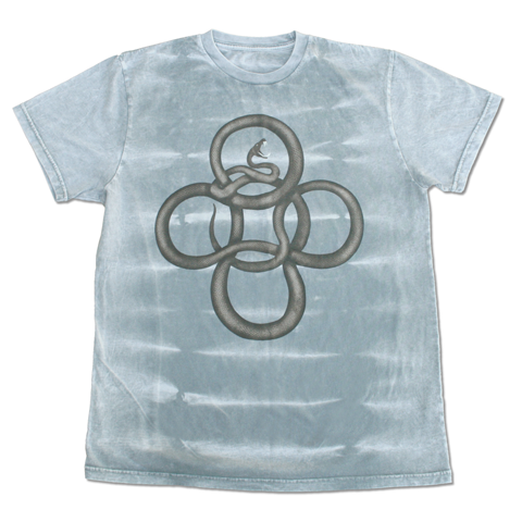 SNAKE GREY TIGER DYE T-SHIRT