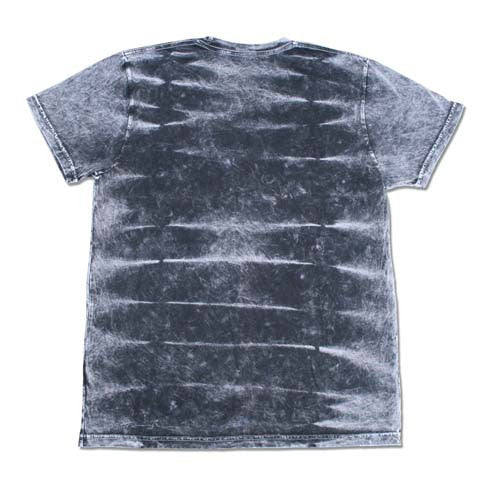 SNAKE BLACK TIGER DYE T-SHIRT