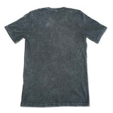 SNAKE BLACK MINERAL WASH T-SHIRT