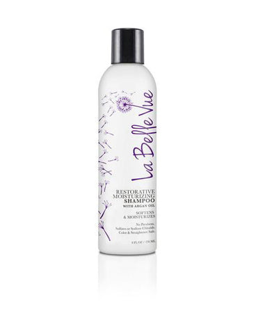 La Belle Vue Restorative Moisturizing Shampoo With Moroccan Argan Oil 8oz
