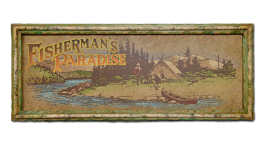 Fisherman's Paradise Sign