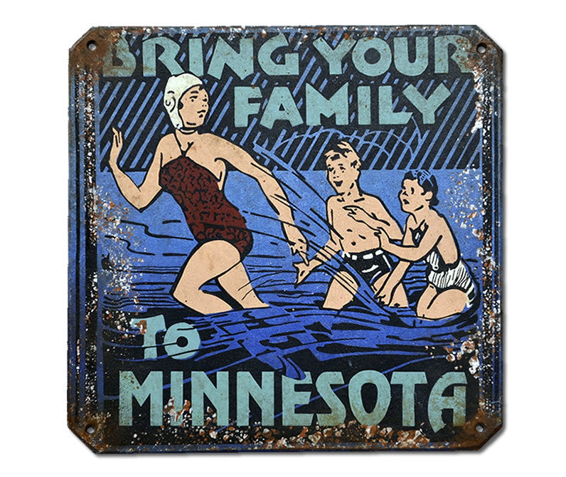 Bring Your Family to Minnesota Sign