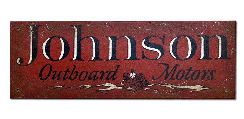 Johnson's Outboard Sign