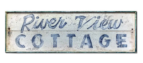 River View Cottage Large Sign