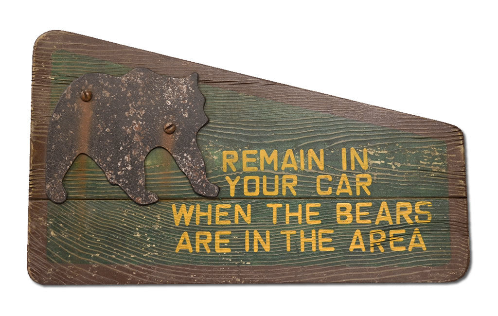 Remain In Your Car When the Bears are in the Area