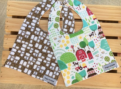 Farm Fun Bib Set