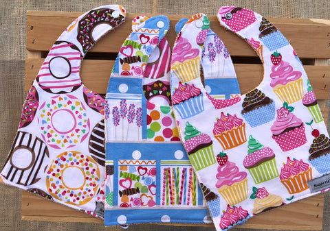 Lots of Sugar Bib Set