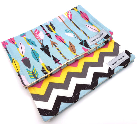 Arrows Burp Cloth Set