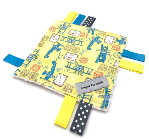 Airplane Sensory Crinkle Toy