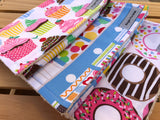 Lots of Sugar Burp Cloth Set