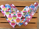 Lots of Sugar Bandana Drool Bib Set