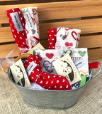 Hearts & Love Baby Gift Basket