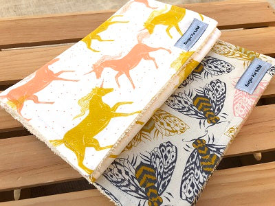 Magic Forest Burp Cloth Set