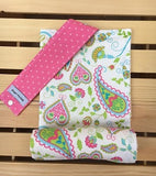Pink Paisley Diaper Changing Pad