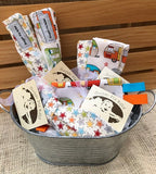 Retro Trailers Baby Gift Basket