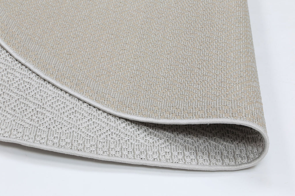 Sienna Silver Diamond Indoor Outdoor Rug