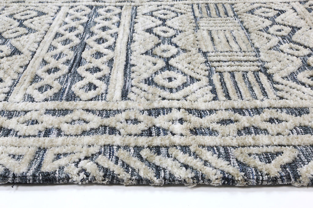 Amanda Tribal Navy Rug