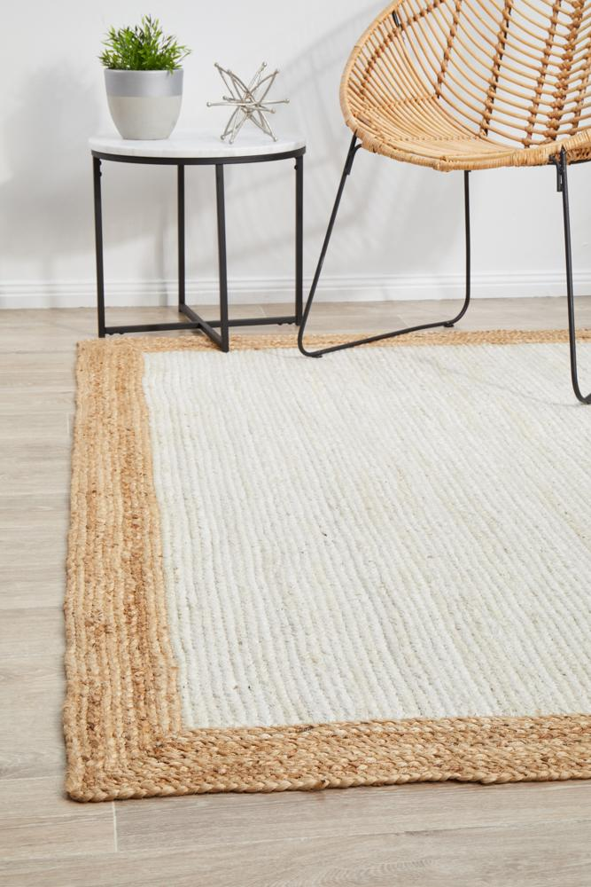 Nola 333 White Natural Rug