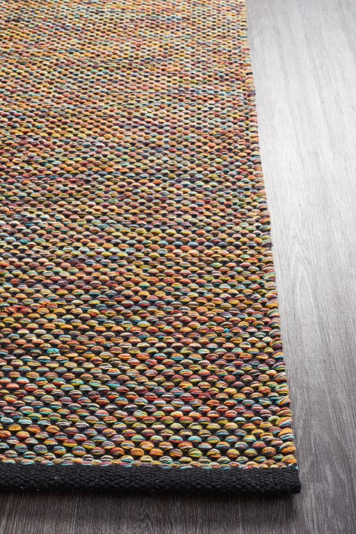Sitar 305 Multi Cotton Flatweave Rug