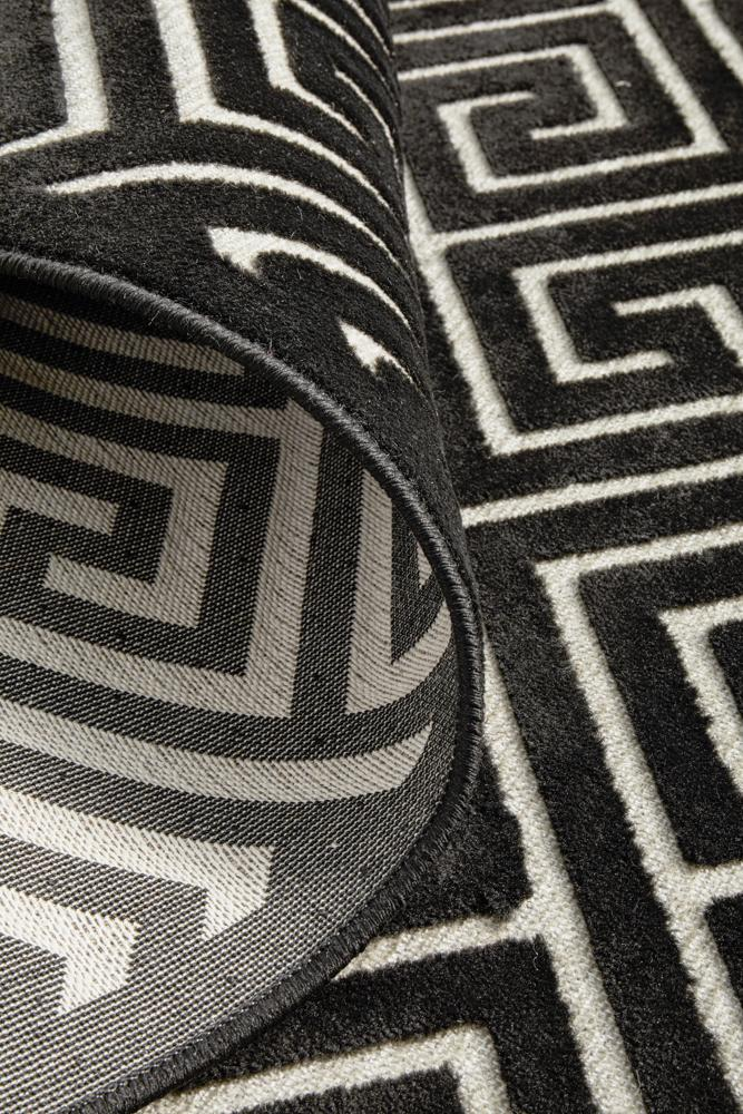 Yale Alice Black & Grey Rug