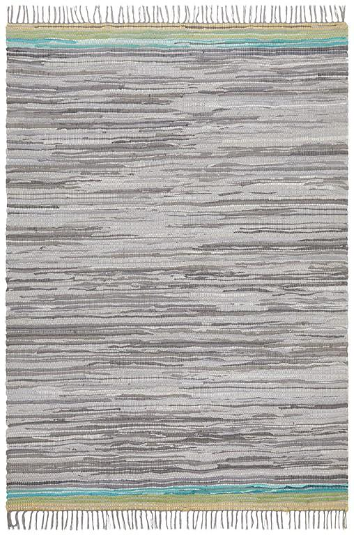 Rugs - Alison Hunter Grey Natural Cotton Organic Rug