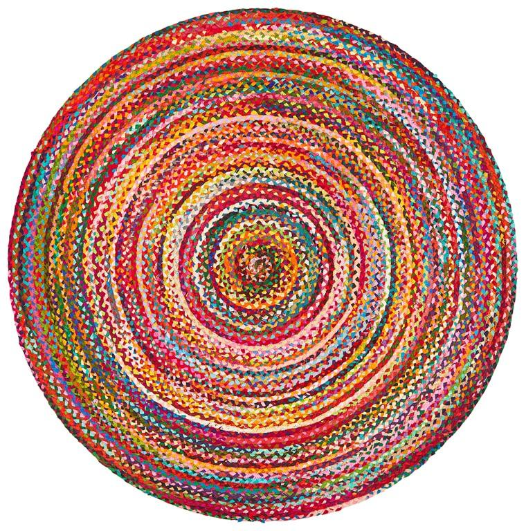Rugs - Alison Round Chindi Natural Cotton Organic Rug