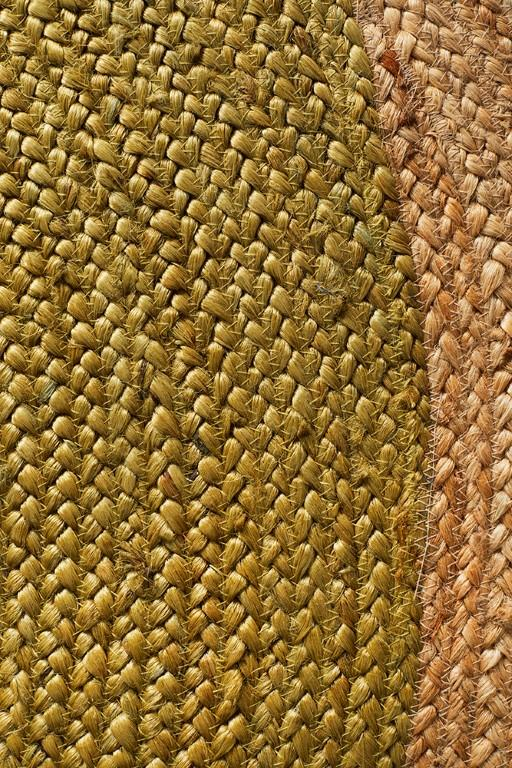 Rugs - Alison Round Polo Sage Green Jute Organic Rug