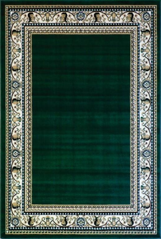 Rugs - Ally 171012 Green Traditional Rug