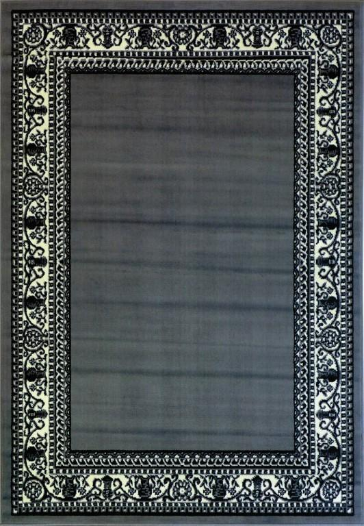 Rugs - Ally 171012 Grey Traditional Rug