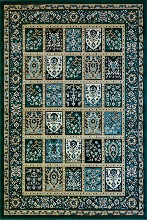 Rugs - Ally 171036 Green Traditional Rug