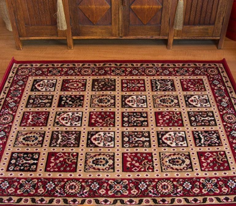Rugs - Ally 171036 Red Traditional Rug
