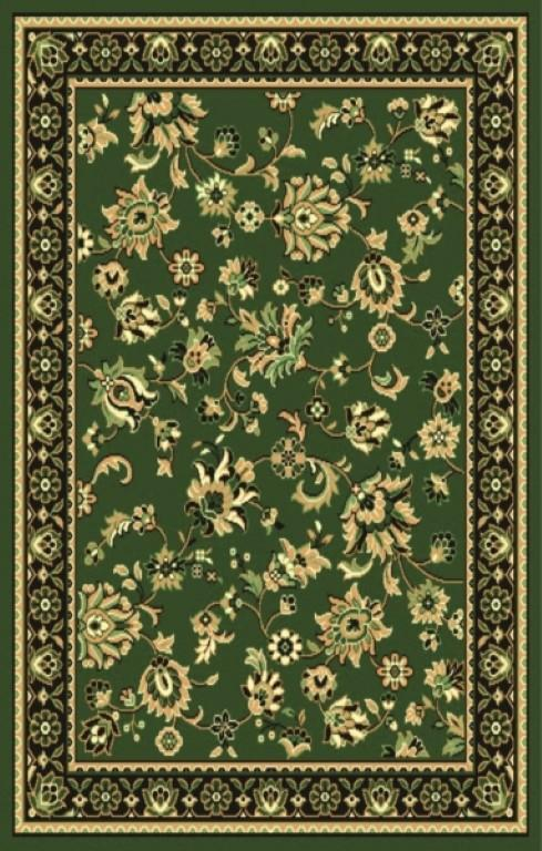 Rugs - Ally 171059 Green Traditional Rug