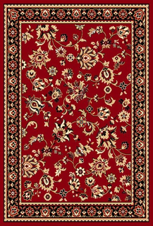 Rugs - Ally 171059 Red Black Traditional Rug