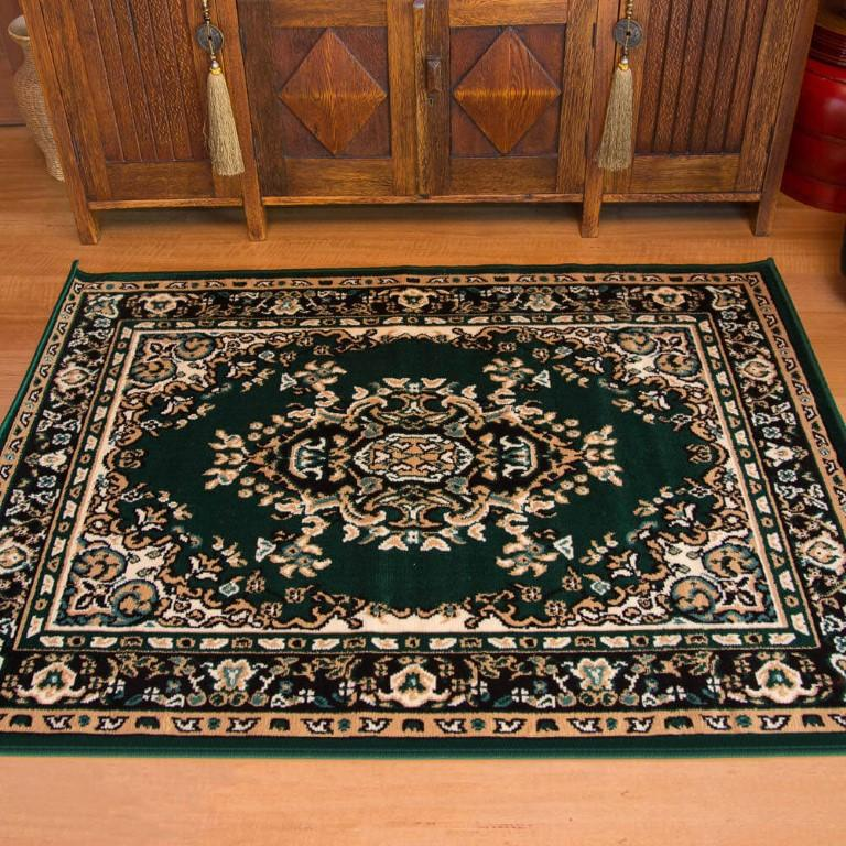 Rugs - Ally 17135 Green Traditional Rug
