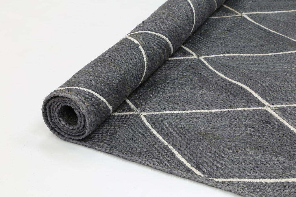 Rugs - Artisan Natural Diamond Grey Rug