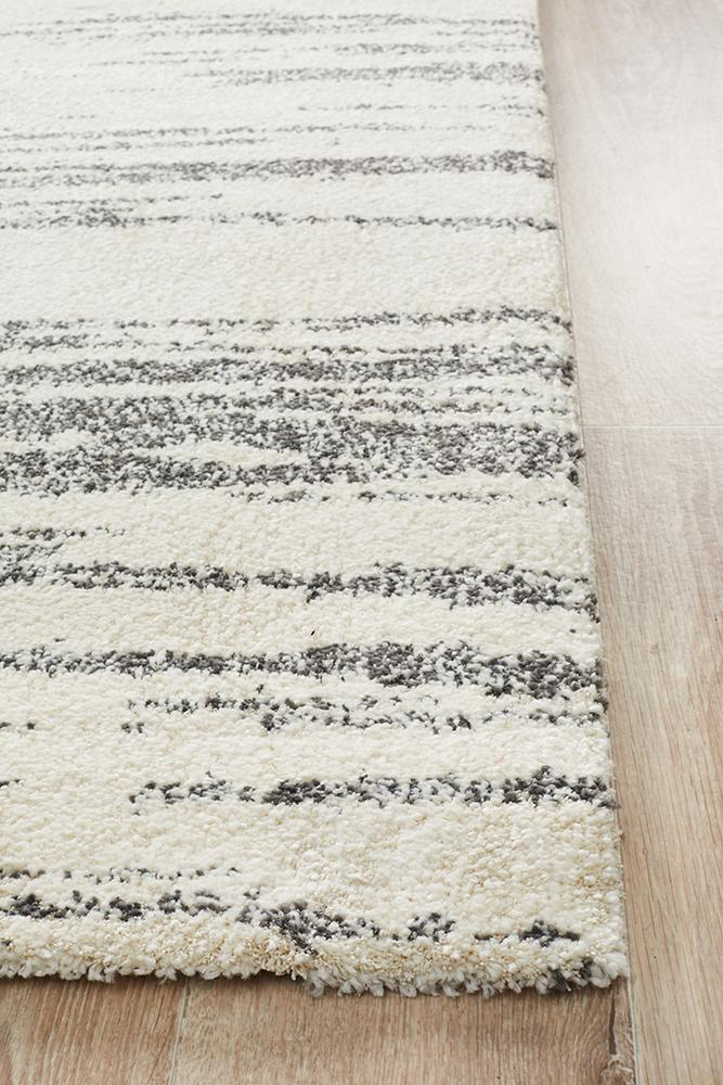 Rugs - Brandy Evelyn Contemporary Charcoal Rug