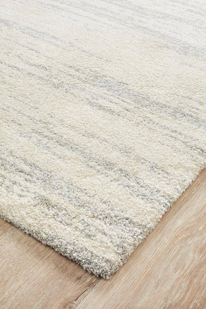 Rugs - Brandy Evelyn Contemporary Silver Rug