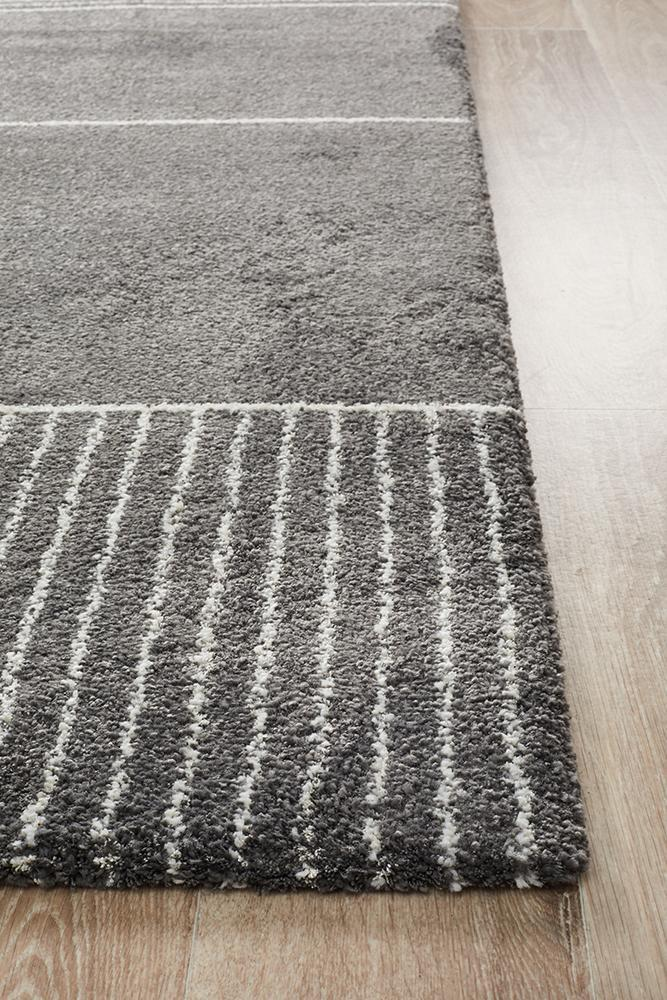 Rugs - Brandy Florence Modern Charcoal Rug