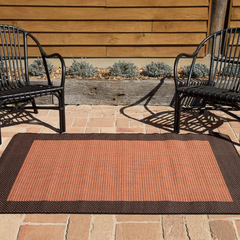 Rugs - Duva Indoor Outdoor Rug 17 Terra Black