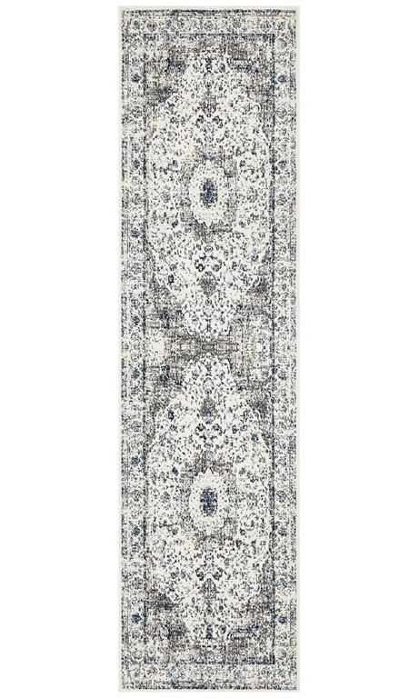 Rugs - Eliza 251 White Cream Modern Rug
