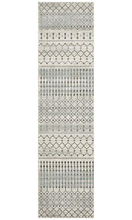 Rugs - Eliza 260 White Cream Modern Rug