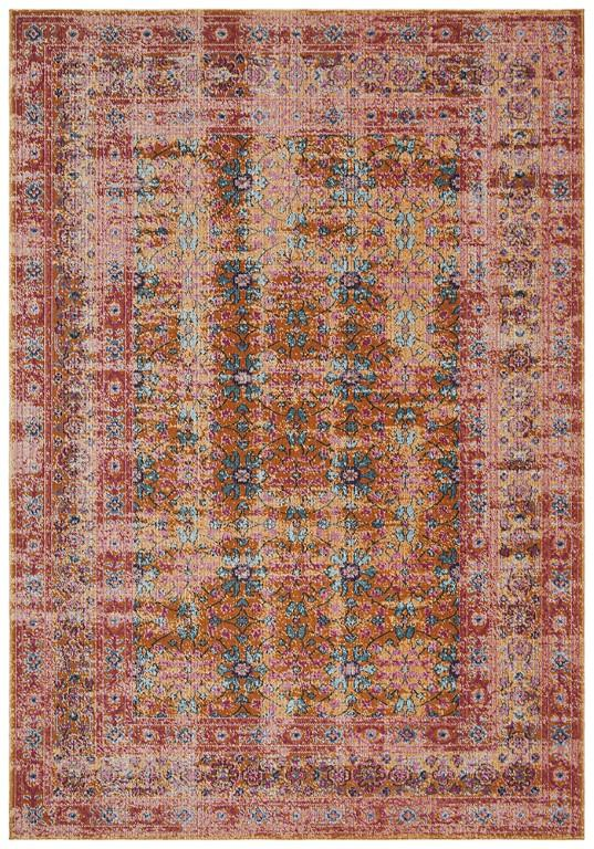 Rugs - Emily 917 Rust Orange Modern Rug