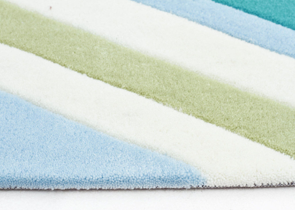 Rugs - Grace 635 Blue Modern Rug