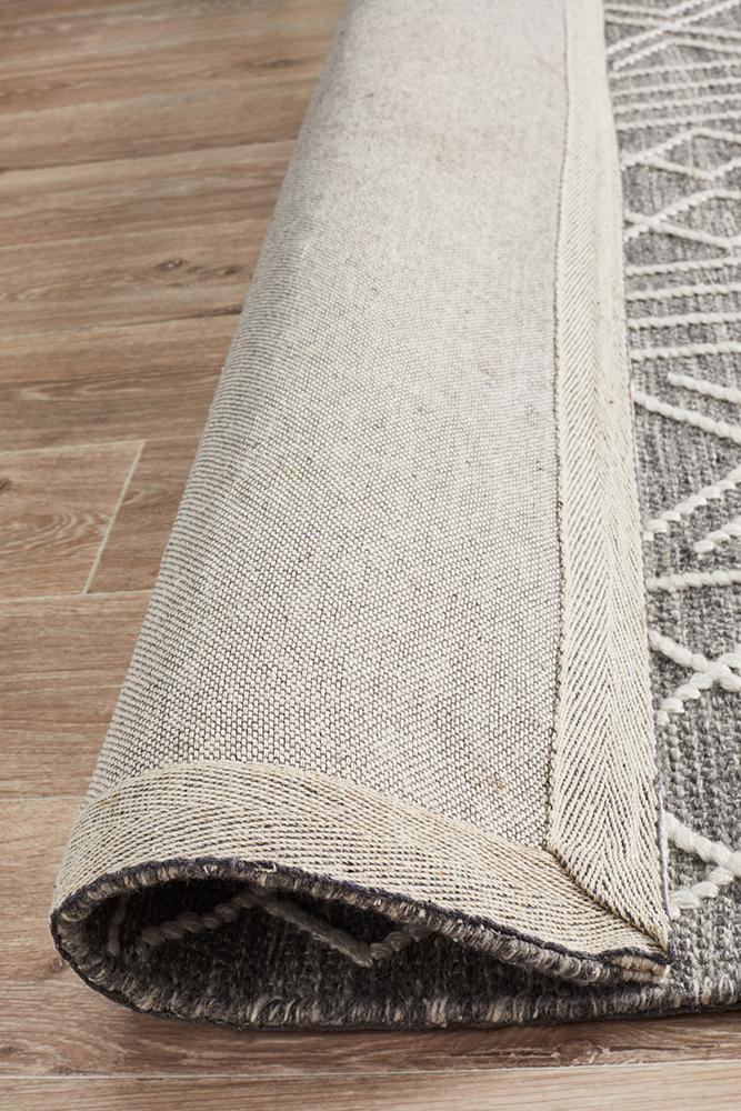 Rugs - Hugo 807 Grey Wool Rug