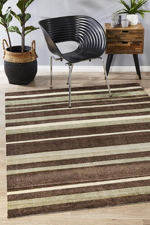 Rugs - Leon 554 Brown Modern Rug