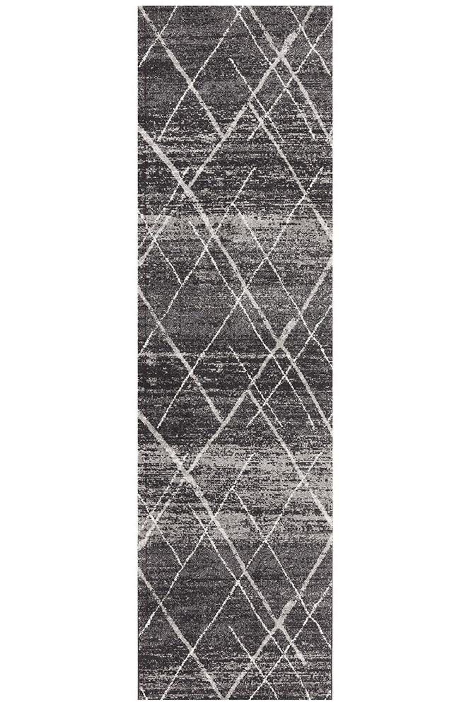 Rugs - Oakley Charcoal Contemporary Rug